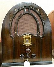 A Philco Cathedral Radio,