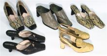 Four Pairs of Ladies Heels,