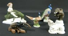 A Collection of Rosenthal Animal Figurines,