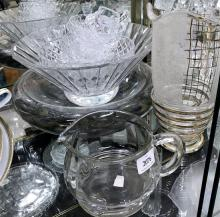 A Collection of Glassware,