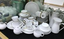 A Collection of Ceramics including Plates, Teacups
