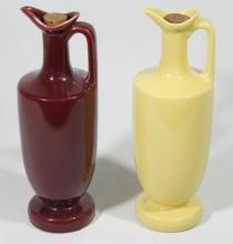 Two MCP Australian Pottery Ewers for Grand Crest Whisky