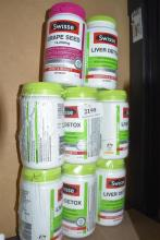 Eight Swisse grapeseed & liver detox supplements