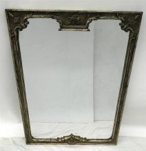 A Faux-Gilded Aged Framed Mirror