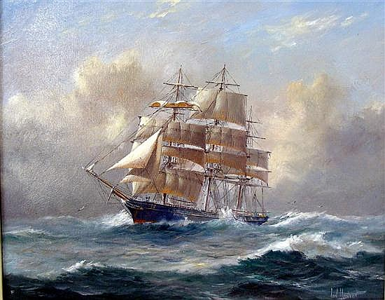 Ian Hansen (b.1948) The Clipper
