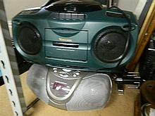 Two CD radios