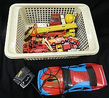 A box of toy cars