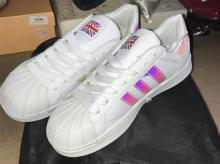 Two pairs of fashion sneakers both size 36