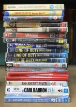 Approx. 20 blue ray & DVD's incl. Dare Devil, Line of Duty etc.