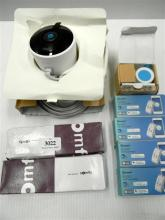 An assortment of home automation devices incl. Nest security camera & Sonoff smart switches etc.