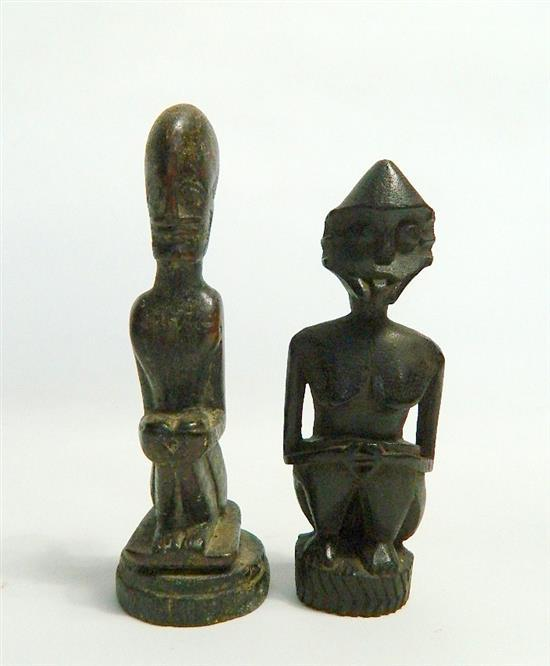 Two Indonesian Ancestral Figures (2),