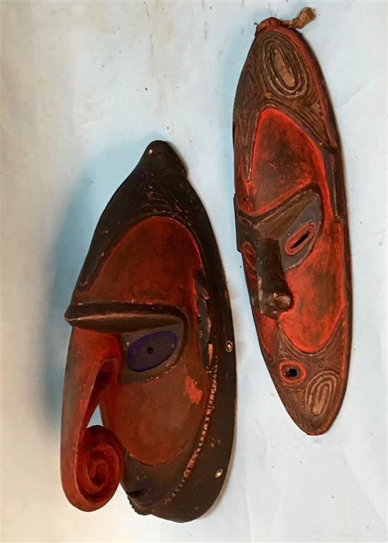 Two Dance Masks (2),