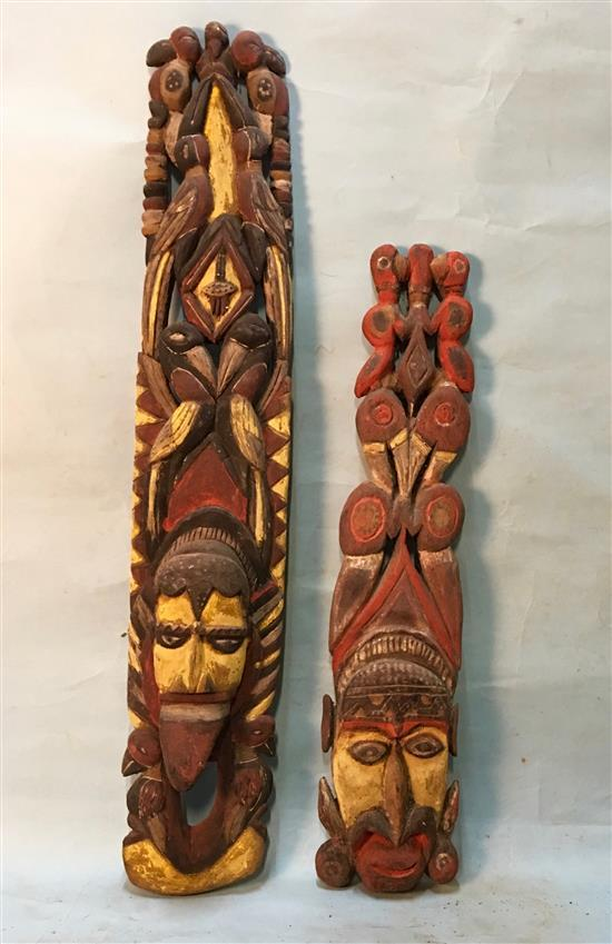 Two Abelam Ancestral Figures (2),