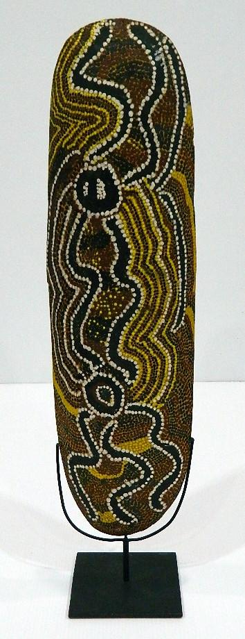 A Painted Aboriginal Coolomon,