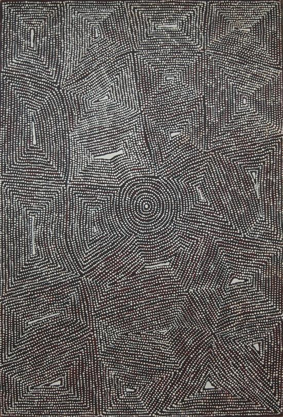 Lindsay Corby Tjapaltjarri 2004 Untitled synthetic polymer paint on canvas