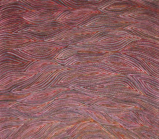 Anna Price Petyarre 2006 Root Dreaming synthetic polymer paint on linen