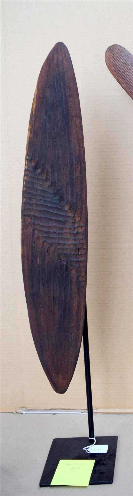 Artist Unknown  Shield carved wood