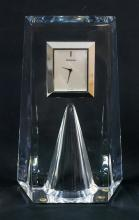 A Waterford Crystal Desk Clock