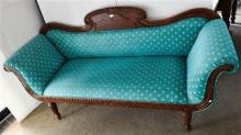A Reproduction Double Ended Longue in the Italian Manner,