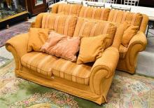 A Two Piece Lounge Suite