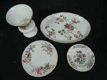 Four Pieces of Wedgwood China including a Vase & Dishes