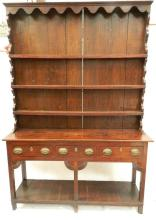 A Welsh Oak Dresser, circa 17th Century & Later