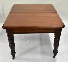 A Late Victorian Cedar Extension Dining Table,