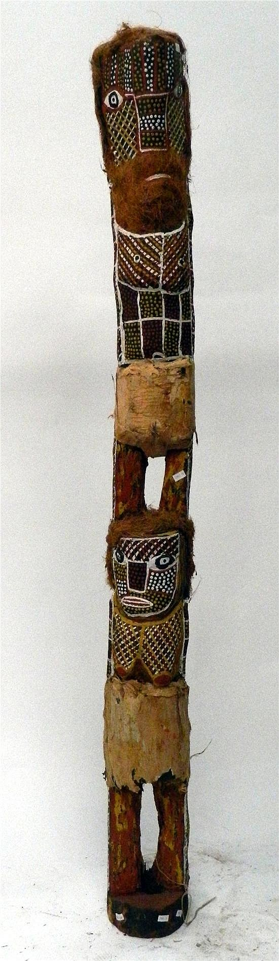 Tiwi Islands Tall Figure 1999, Carmelina Puantulura Circa 1957 - 2006