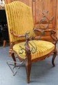 A Fine French 18th century, Carved Walnut Fauteuil