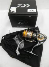 A Spinning Reel marked Daiwa Certate 2004 in open box