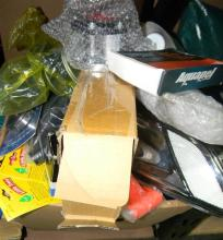A Large Box of Assorted Car Parts & Accessories