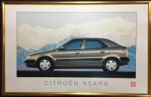 Ed Lee, Citroen Xantia x 2 + James Heafner, Citroen Xsara + Chris Myhill, Citroen Berlingo + MGZT V8 (5) Factory Promotional posters,