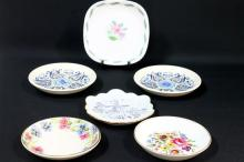 A Variety of Pin Dishes,