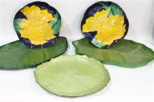 Handmade Paper Mache Trays, Handcrafted in Thailand [5 items]