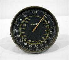 A Jaeger Tachometer circa 1925 ex Frank Kleinings Hudson Special / Kirby Deering Special