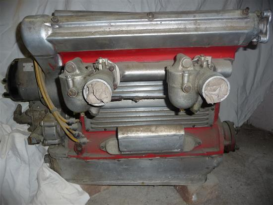 A HAL twin overhead cam midget / speedcar engine from the mid 1930s
