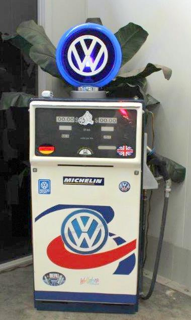 A VW fuel bowser