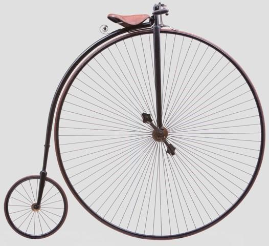 A Penny Farthing, Premier 'Light Roadster' 1886, manufactured by Hillman, Herbert and Cooper, Coventry UK
