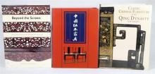 Chinese Furniture; Beyond the Screen, Classic Chinese Furniture of the Qing Dynasty, Tian Jiaqing, three Volumes,
