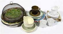 A Group Cups, Saucers, Plates & Bowls [approx 30],