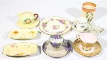 A Collection of English Ceramics including Shelley & Carltonware [14]
