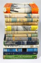 A Collection of Thirteen Mariner''s Library Volumes with Other Titles on Maritime Subjects including First Edition,