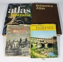 Three Travel & Geography Volumes + A First Edition Volume: ''Readers Digest Atlas of Australia,'' [1977],