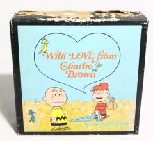 A First Edition Charlie Brown Boxed Set of Books