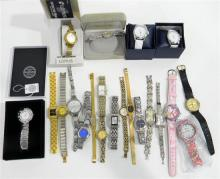 A collection of ladies watches marked Lorus etc.