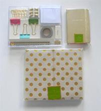 Designer Stationery items marked Kate Spade New York incl. desk top folio, notebook & tackle box