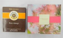 A Fresh Perfumed Water & gift set marked Roger & Gallet and L'Occtaine