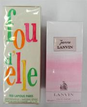 Two scents marked Lanvin & Ted Lapidus