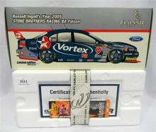 A Classic Carlectables limited edition Stone Bros. Racing BA Falcon with certificate of authenticity