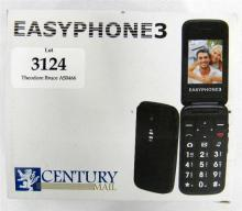 A Century Male Easy Phone 3 mobile flip phone